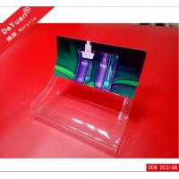 Acrylic cigarette display stand / clear acrylic cigarette counter display Manufactures