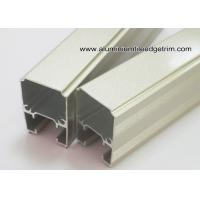 China Extruded Anodized Aluminum C Slide Track Channel / Tubes For Sliding Door on sale
