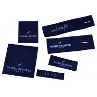 Superior Quality Clothing Woven Labels Shrink-proof For Men Suit, Pants Manufactures