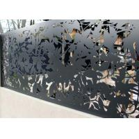 Lightning Protection Steel Screen Panels , Heat Preservation Decorative Steel Sheets Manufactures