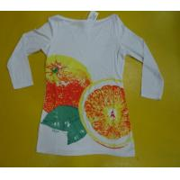 Womens Loose Fit T Shirts Three Quarter Length , Comfy Modal Fabric T Shirts Manufactures