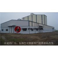 Q235 high quality low cost prefabricated steel buildings construction Manufactures