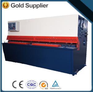 CNC Hydro Power Sheet Metal Cutting Machine / rolling Hydraulic Shearing Press Manufactures