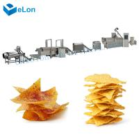 China Autoamtic food production fried puff snacks pellet corn chips extruder machines production line on sale