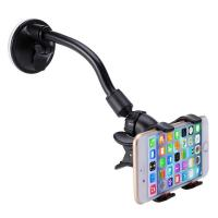 China Long Arm Car Cellphone Holder With 360 Degree Rotation Suction Cup on sale