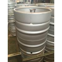 China 50L Euro keg for micro brewery with G type fitting on top,made of Stainless steel 304, food grade material on sale