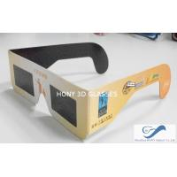 Cheap paper frame solar eclipse viewing glasses with 0 for Affordable solar frames