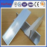 Quality 2015 new products mill finish 6063 customized aluminum angle aluminum extrusion for sale