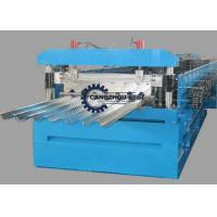 China Steel Plate Floor Deck Roll Forming Machine For Building Construction on sale