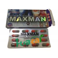 Maxman IV Capsules Natural Male Enhancement Pills To Thicken Penis Size 3800mg * 12 Pills Manufactures