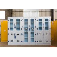China Lab PP Material Chemical Reagent Storage Cabinet Strong Acid Alkali Resistance on sale