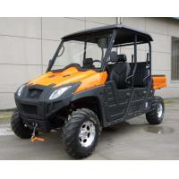 600cc Four Wheel Utility Vehicle , Single Cylinder 4 Stroke 5 SEATER Rocky Mountain UTV Manufactures