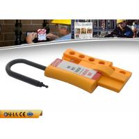 ZC-K46 New Non-conductive Nylon Locknshackle 6mm lockout HASP, Yellow HASP Manufactures