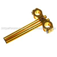 Quality 37mm Long Motorcycle Clip Ons Handlebars With Aluminum Alloy Material for sale