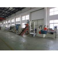 China Automatic Rigid PVC Sheet Production Line With 0.1mm - 2mm Thickness on sale