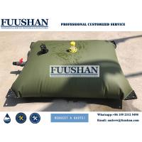 Quality Fuushan Camping Application 1000 liter Plastic Water Storage Tank Bladder for sale