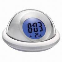 LCD Backlight Talking Alarm Clock with 3 Different Alarm Tones Manufactures