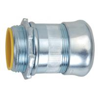2 Inch EMT Compression Connector , EMT Conduit Compression Fittings Insulated Type Manufactures