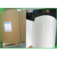 Jumbo Roll One Side Coated Ivory Board , 230gsm 250gsm C1S Ivory Board Manufactures