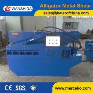 Q43-1000 small Scrap Metal Shear/Alligator Shearing machine to cut scrap steel pipe manufacturer price Manufactures