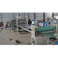Quality Twin Screw Plastic Pvc Sheet Extrusion Line / Plastic Sheet Extrusion for sale