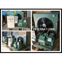 Compact Central Air Conditioner Condenser / Commercial Condensing Unit Manufactures