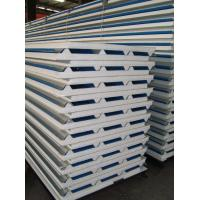 40mm 50mm Roof Panel Polystyrene Sandwich Panel Waterproof Exterior PPGI Steel EPS Sandwich Panel Manufactures