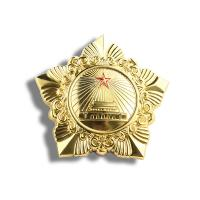 China Quality Veterans Memorial Medal Customized, Metal Medal Customized, National Emblem Badge Wholesale on sale
