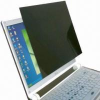 China White/Black Color Privacy Screen Protector for Laptop on sale
