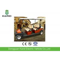 6 Person Electric Car Golf Cart , Battery Operated Golf Buggy High Performance Manufactures