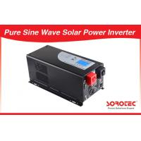 China Sinusoidal RJ11 Solar Power Inverters Pure Sine Wave 12V / 24V DC on sale