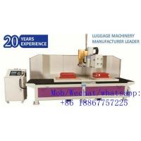 Fully-auto Cutting & Hole Puncher Machine for Luggage Suitcase Production Manufactures