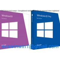 English Multi Language Microsoft Windows 8.1 Retail Box OEM Full Package With Disc USB Manufactures