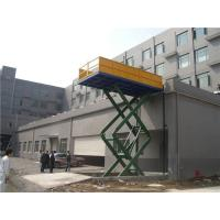 China 1.0m Guardrail hydraulic car scissor lift platform anti-hydraulic pipe rupture on sale
