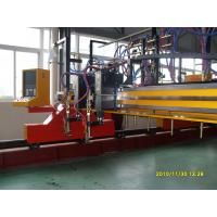 3000 x 10000 Gantry Type CNC Plasma Cutting Machines With Cnc Control System Manufactures