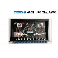 China 40  Channels Arrayed Waveguide Grating Passive Optical Network Rackmount Module on sale