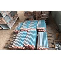 Copper tube Blue Fin Air Cooled Heat Exchangers For Air Dehumidification Systems Manufactures