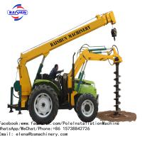 China Auger Crane Pile Driver Machine on sale