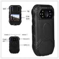 China Portable Police Wearing Body Cameras Ambarella A7 2 Inch TFT LCD Color Display on sale