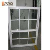 Aluminum Frame Double Glazed Sash Windows For Residential And Commercial