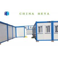 Ready Made Steel Container Prefab Camp Houses Easily Transported Grade 4 Fire Proof Manufactures