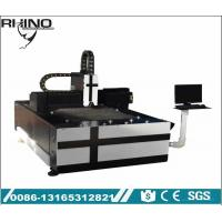 Small Size Fiber Laser Cutting Equipment Steel / Carbon Steel / Copper Cutting Usage