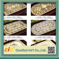 Table Mats Design Vinyl Table Cloth 0.08mm - 0.30mm Thickness Manufactures