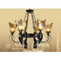 China Foyer / Indoor Wrought Iron , Retro and Traditional Shabby Chic Chandelier on sale