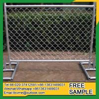 Rewan Standard size hot sale in Australia self supporting fence panel Manufactures