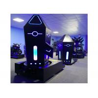 Rocket Standing 9D VR Games Machine 1200W Electric Cylinder With 360 Degree Roation Manufactures