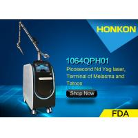 China Less Pain Picosecond Diode Laser Beauty Machine Pico Laser For Tattoo Removal on sale