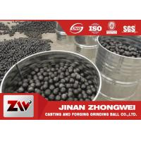 China High Chrome high hardness Cast Iron Balls for Cement Plant Ball Mill on sale