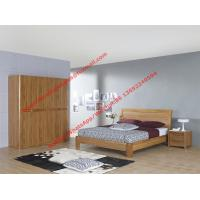 Bentwood headboard screen Concise design bed by Row skeleton bedstead with spring mattress and wardrobe Manufactures