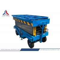10m Working Height Movable Hydraulic Scissor Lift Table for Warehouse Manufactures